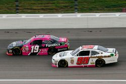 Matt Tifft, Joe Gibbs Racing Toyota and David Starr, BJ McLeod Motorsports Chevrolet