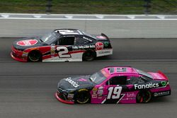 Matt Tifft, Joe Gibbs Racing Toyota and Austin Dillon, Richard Childress Racing Chevrolet
