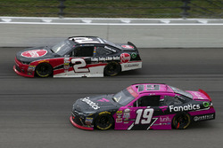 Matt Tifft, Joe Gibbs Racing Toyota, Austin Dillon, Richard Childress Racing Chevrolet