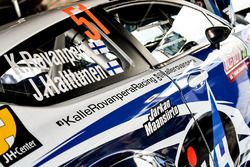 El auto de Kalle Rovanperä, Jonne Halttunen, Ford Fiesta R5