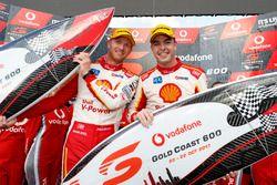 Les vainqueurs Alexandre Prémat, Scott McLaughlin, DJR Team Penske