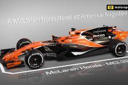 McLaren fejlesztések