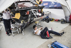 Peugeot Sport at the bivouac
