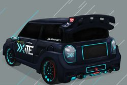 Xite Racing Mini Cooper S livery concept