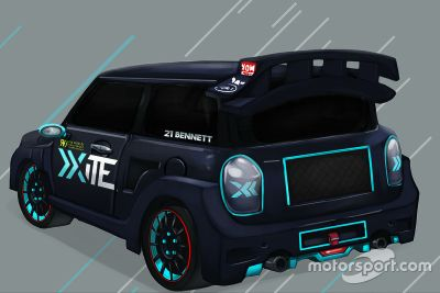 Набросок ливреи Xite Racing