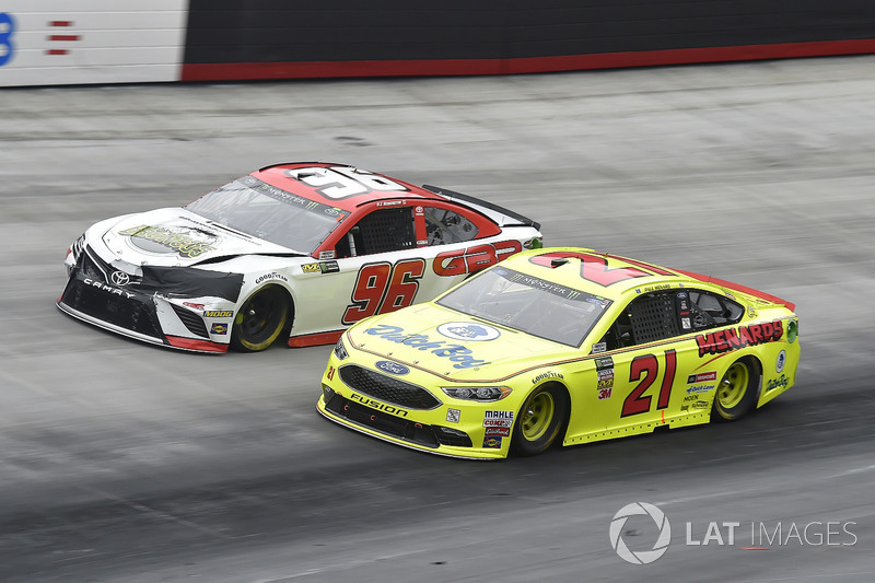 Paul Menard, Wood Brothers Racing, Ford Fusion Menards / Dutch Boy, D J Kennington, Gaunt Brothers Racing, Toyota Camry, Gaunt Brothers Racing