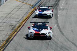 #25 BMW Team RLL BMW M8, GTLM: Alexander Sims, Connor de Phillippi, #24 BMW Team RLL BMW M8, GTLM: John Edwards, Jesse Krohn