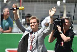 Nico Rosberg, Mercedes-Benz Embajador en la parrilla