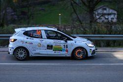 Ismael Vuistiner, Florine Kummer, Renault Clio R3T, Vuistin Team, Lugano Racing Team