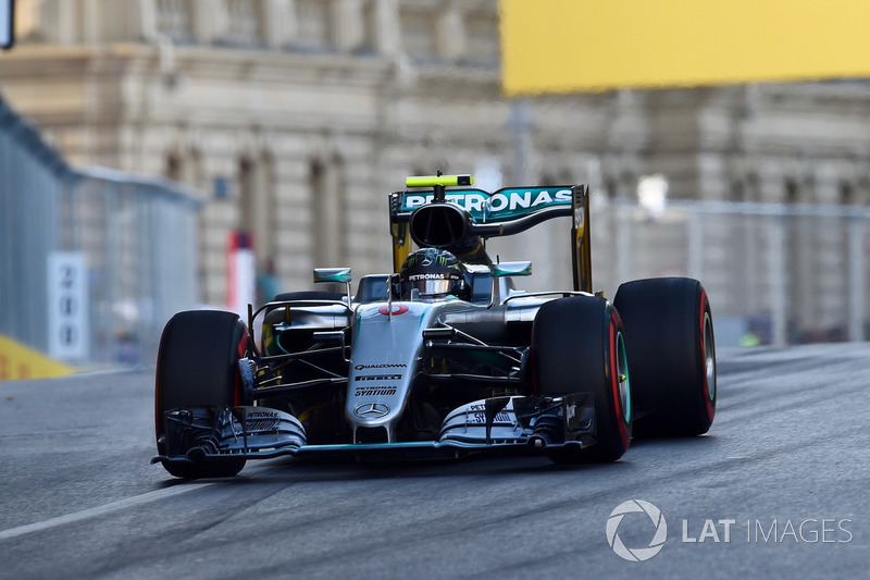 GP da Europa 2016 - Vencedor: Nico Rosberg