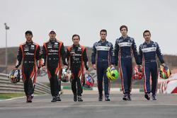 #22 G-Drive Racing, Oreca 07 - Gibson: Memo Rojas, Ryo Hirakawa, Leo Roussel, #32 United Autosports, Ligier JSP217 - Gibson: William Owen, Hugo de Sadeleer, Filipe Albuquerque