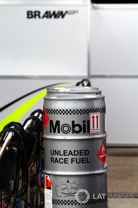 Mobil fuel used by the Brawn Grand Prix team