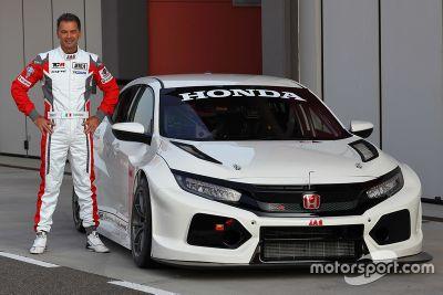 Honda Civic Type R TCR testing