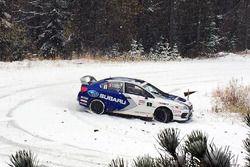 Antoine L'Estage and Alan Ockwell, Subaru WRX STI