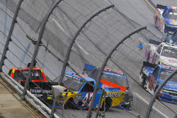 Cody Coughlin, ThorSport Racing Toyota wrecks