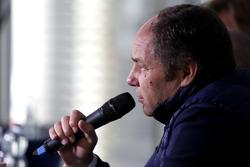 Conférence de presse : Gerhard Berger, Présdient de l'ITR