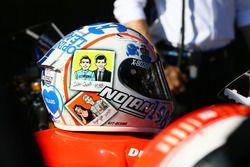 Marco Melandri, Ducati Team helmet