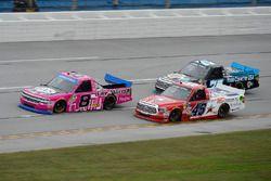 John Hunter Nemechek, SWM-NEMCO Motorsports Chevrolet, Austin Wayne Self, AM Racing Toyota, Parker K