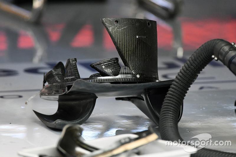 Red Bull Racing RB13 fren kanalı