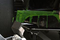 Aero paint on Red Bull Racing RB13