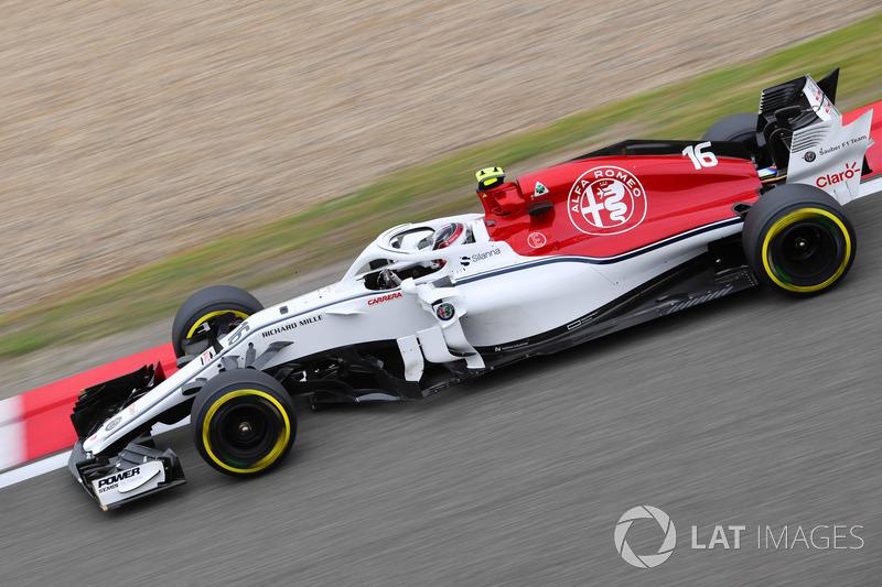 18. Charles Leclerc, Sauber C37