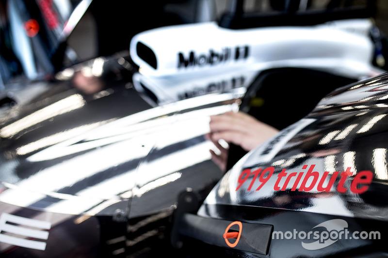 Porsche 919 Hybrid Evo, Porsche Team, dettaglio