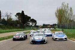 Gianmarco Quaresmini, Dinamic Motorsport, Tommaso Mosca, Tsunami RT, Sergio Campana, Ghinzani Arco Motorsport e il resto dei protagonisti della Carrera Cup 2020