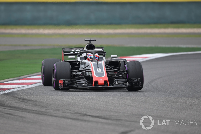 17. Romain Grosjean, Haas F1 Team VF-18