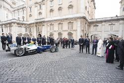 Papa Francesco, Alejandro Agag, CEO, Formula E