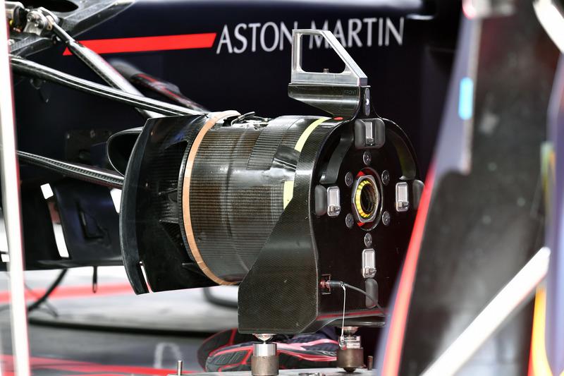 Buje de rueda Red Bull Racing RB14
