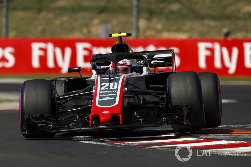 7. Kevin Magnussen, Haas F1 Team