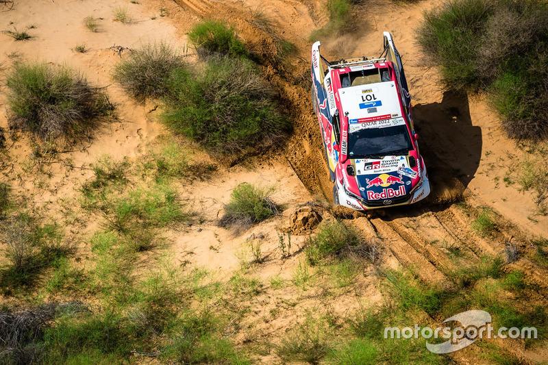 #101 Toyota Hilux: Nasser Al-Attiyah, Mathieu Baumel