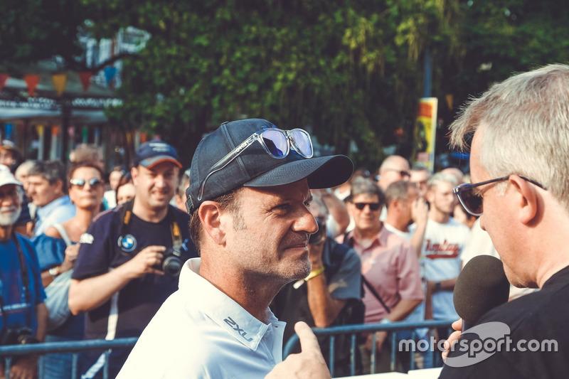 #44 Strakka Racing Mercedes-AMG GT3: Rubens Barrichello