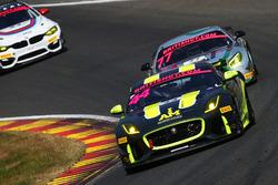 #44 Invictus Games Racing Jaguar F-TYPE SVR GT4: Paul Vice, Matthew George