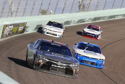 Christopher Bell, Joe Gibbs Racing Toyota and Scott Lagasse Jr., Chevrolet