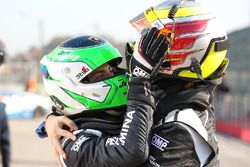 Race winners Raphael Abbate, Yuki Nemoto, VS Racing