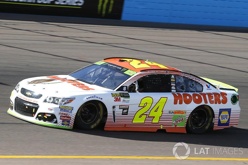 #9: Hooters von Chase Elliott, Hendrick Motorsports