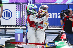 Lucas di Grassi, Audi Sport ABT Schaeffler, Daniel Abt, Audi Sport ABT Schaeffler, celebran