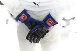 Les gants de Valtteri Bottas, Mercedes AMG F1
