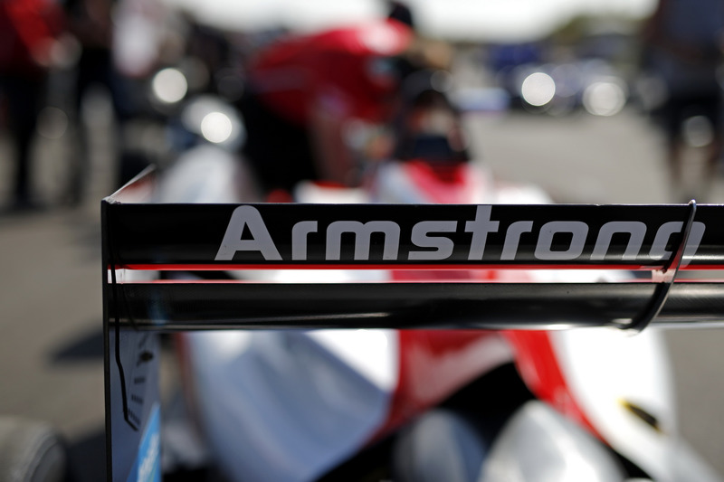 Car detail if Marcus Armstrong, PREMA Theodore Racing Dallara F317 - Mercedes-Benz