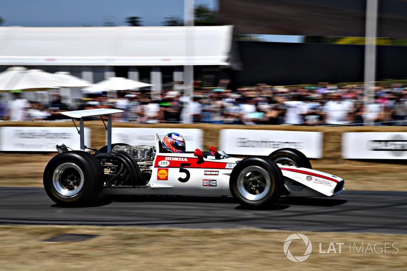 Jenson Button Honda RA301