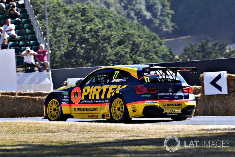 Andrew Jordan, BMW 125i M Sport (52,58 detik)