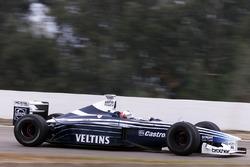 Darren Manning, Williams BMW ile ilk F1 testine çıkıyor