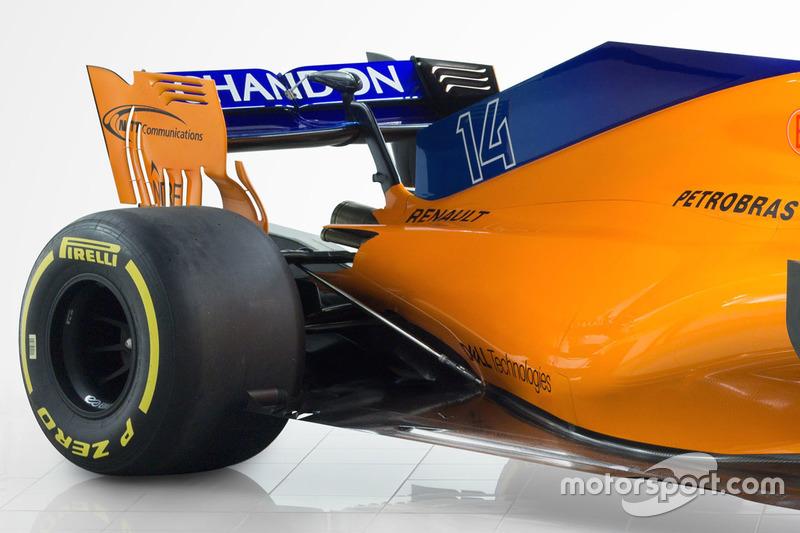 McLaren MCL33 achterkant detail