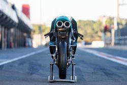 Vue de l'arrière de la moto d'Adam Norrodin, Petronas Sprinta Racing