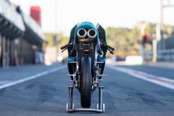 Dettaglio posteriore della moto di Adam Norrodin, Petronas Sprinta Racing