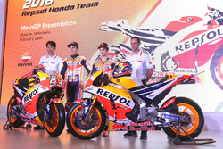 Marc Marquez, Repsol Honda Team, Dani Pedrosa, Repsol Honda Team, Alberto Puig, Repsol Honda Csapatfőnök