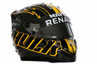 New helmet design of Nico Hulkenberg