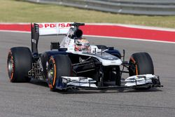 Pastor Maldonado, Williams FW35 with sensor on rear floor