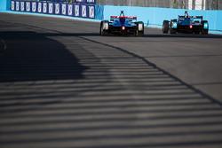 Sam Bird, DS Virgin Racing, Oliver Turvey, NIO Formula E Team